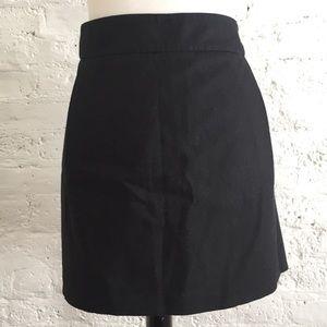 Club Monaco black skirt with belt loops